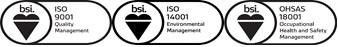 BSI Combined Assurance Mark 9001 14001 18001